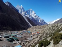 Dingboche Valley