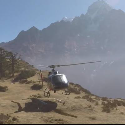 Everest Base Camp Helicopter flight landing Tour with cost