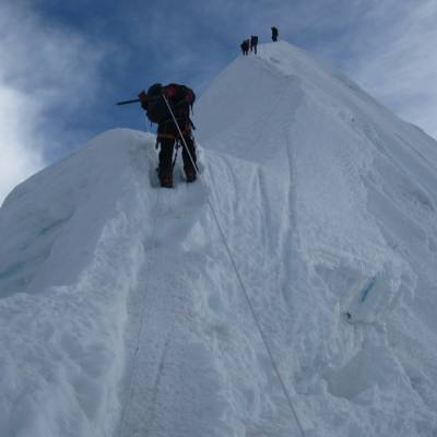 Island Peak Climbing with Kala Patthar